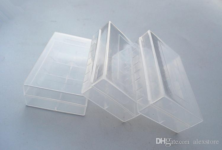 20700 21700 Taşınabilir Plastik Kasa Kutusu Emniyet Tutucu Saklama Kabı için Temizle Paketi Piller Lityum iyon Pil Şarj Şal DHL
