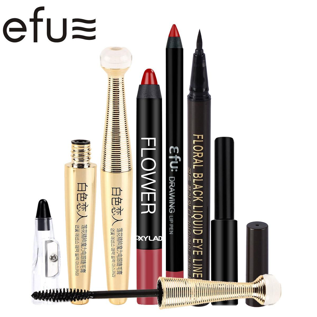 Makeup set lip liner and lipstick and eyeliner mascara sharpener makeup set lip liner and lipstick and eyeliner mascara sharpener brand efu efus01 cosmetics makeup brushes from caodou 2388 dhgate izmirmasajfo