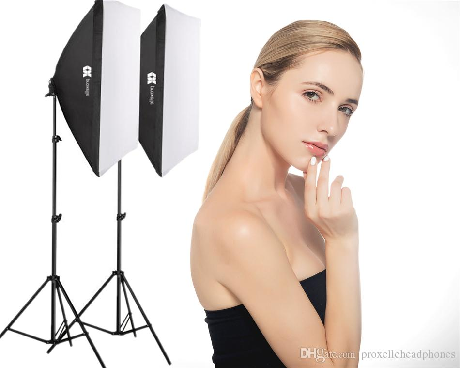 Acquista kit di illuminazione studio fotografico softbox da w