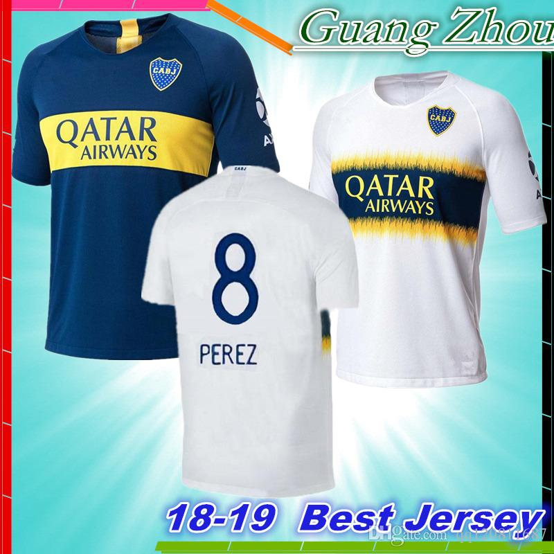 445298584 2018 Boca Juniors Soccer Jersey Home Away 2019 GAGO OSVALDO CARLITOS ...