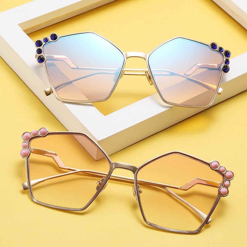94b5a080773 2018 New Designer Fashion Luxury Womens Sunglasses Tide Sun Glasses  Designer Sunglasses Designer Glasses Luxury Sunglasses Online with   9.43 Piece on ...