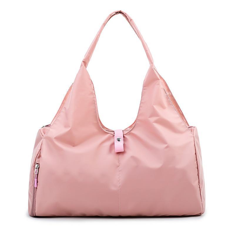 df62b43c3468 Women Yoga Handbag Sport Fitness Gym Bags Waterproof Nylon Shoulder ...