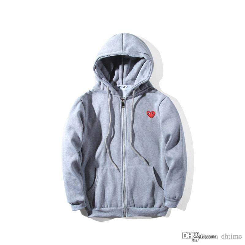 802404e4 2019 Love ' ;S Black Hoodies Heart Printing Coat Fashion Jogger ...