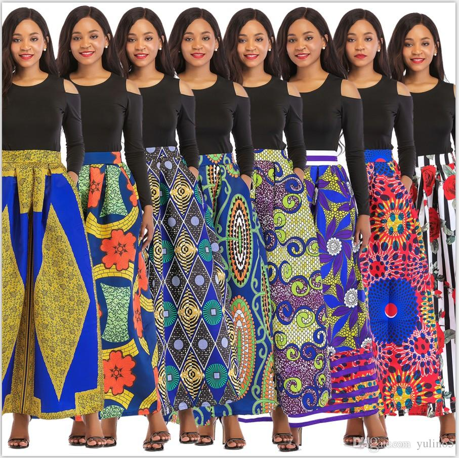 d9c1f014fd0d M405-0 New Fashion Women s Explosions Classic Rose Print Skirt Set Multi- color Multi-code Comfortable And Beautiful Woman Women s Clothing Ladies  Skirt Suit ...
