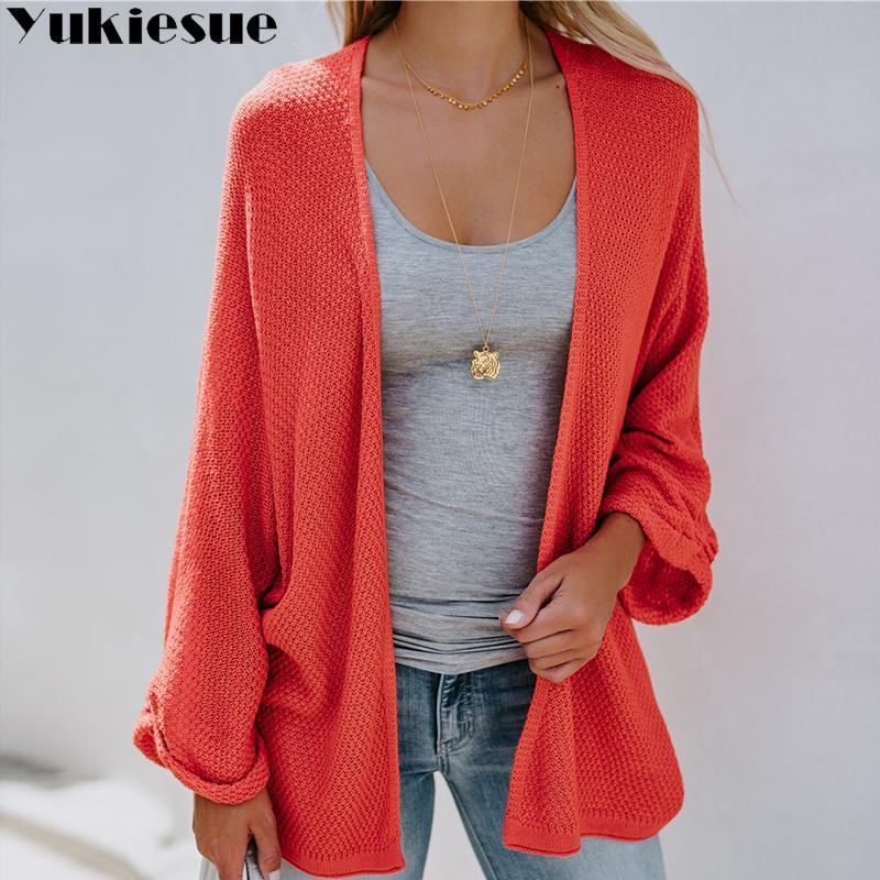 accbebf2b72 Elegant Warm Autumn Winter Sweater Cardigan Women Twist Knitted ...