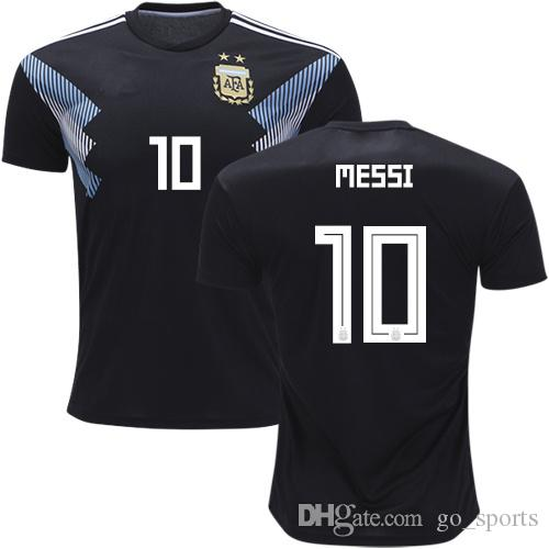 2019 2018 Argentina Away Soccer Jersey Customized Best Quality Messi