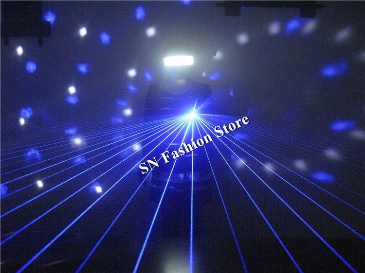 LS802 Nuova 40 raggi laser / travi testa laser / laser blu guanti leggeri sala da ballo di danza dj guanti fase Show Bar partito forniture