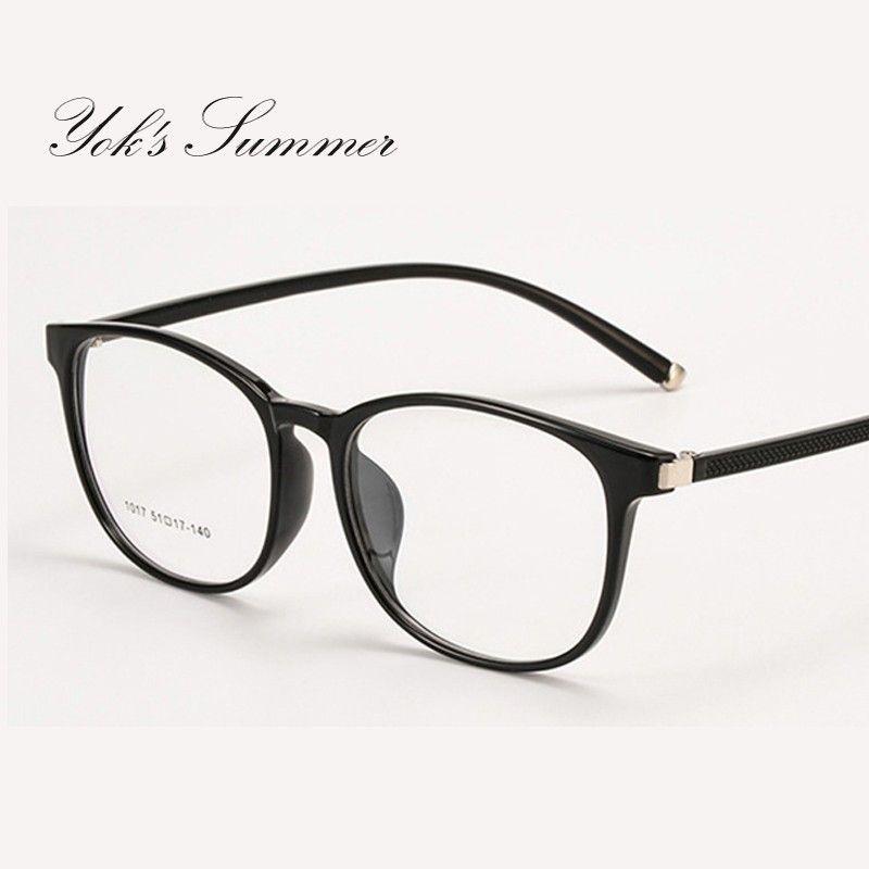 05c462a483e41 Yok s Ultra Light Transparent TR90 Square Glasses Optical Myopia Eyewear  Frame Trend Flexible Student Decoration Eyeglass UN1131