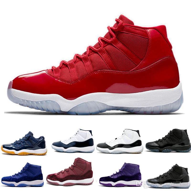 Cheap 11 11s XI Mens Womens Basketball Shoes Gym Red Space Jam Bred Concord  Heiress Velvet Win Like 96 82 Classic Sneaker Shoe Basket Ball Shoes  Barkley ... 10cd01320