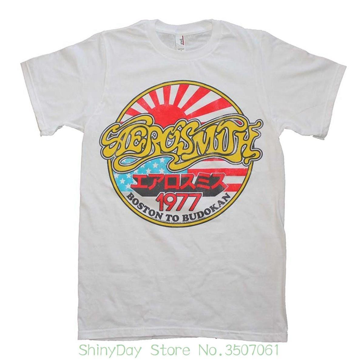 c30ed371d4c Newest 2018 Men S Fashion Aerosmith Boston To Budokan 1977 Slim Fit Concert  Tour T Shirt Buy T Shirt Fun Shirt From Amesion88