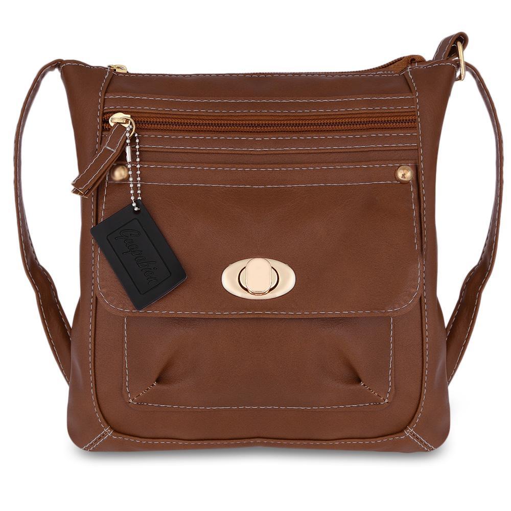 d1b311015d93 Designers Women Messenger Bags Females Vertical Dual Purposes Bag Leather  Crossbody Shoulder Bag Handbag Satchel Vintage Handbags Black Purses From  ...