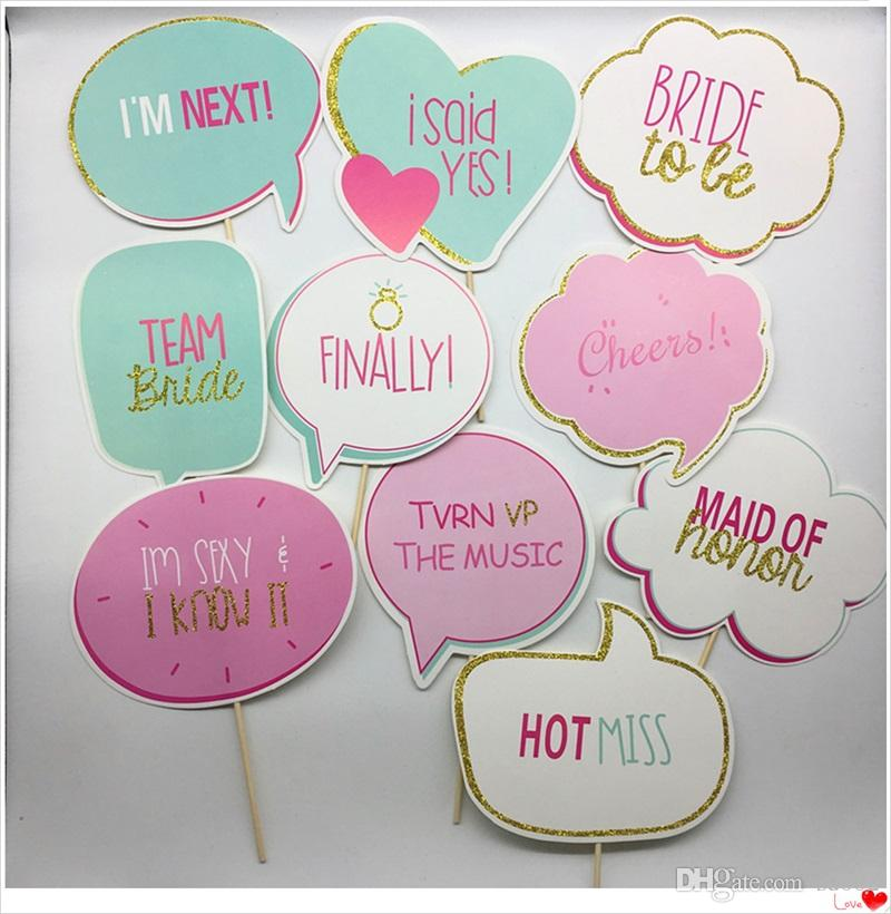 ca11764dd0f Team Bridal Shower Prop Wedding Bride To Be Photo Booth Props Party Favors  Decor Event Supplies Flexible Creative 5 5cy Jj Birthday Theme Decorations  ...