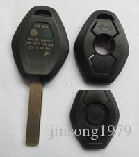 KL56-1 car key case For BMW Series Z3 Z4 X3 X5 E36 325i 525i 330i 530i 545i With Uncut Blank Blade.