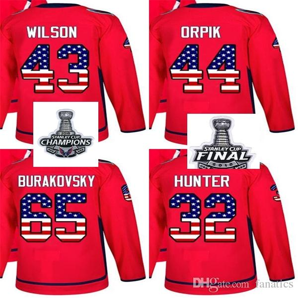 b4501b111d1 2018 Stanley Cup Champions Men Women Kid Washington Capitals USA ...