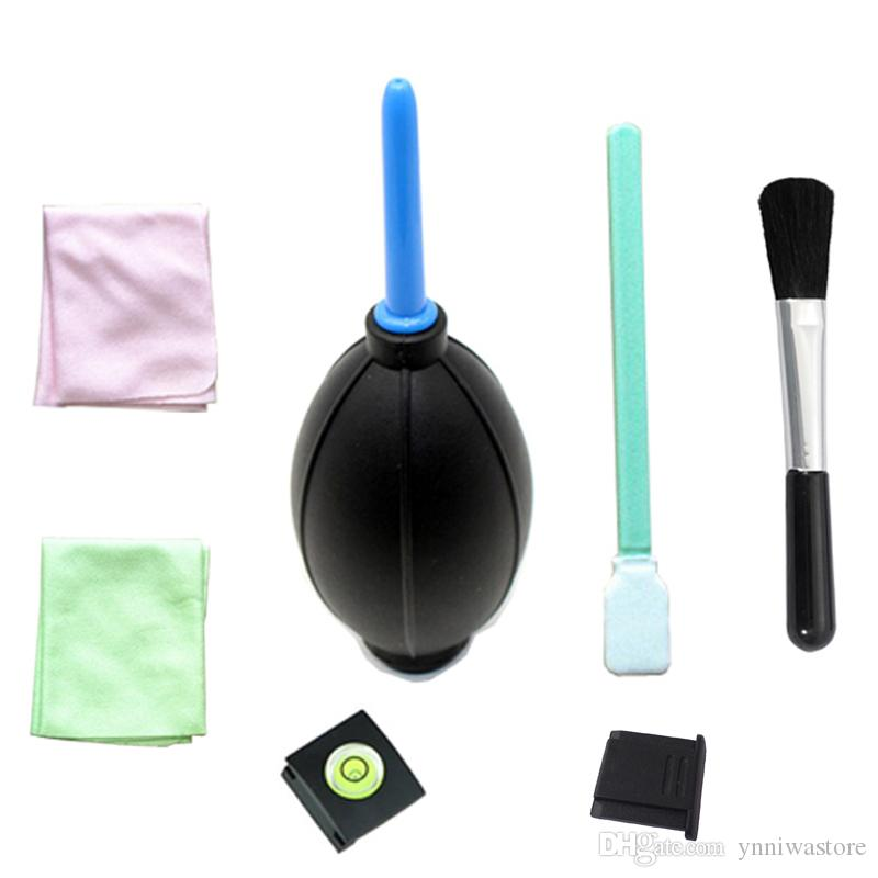 7 in1 Camera Lens Clearing suit kit set Lens Clean-pano Air Blower + limpeza bursh + pano Limpo + sapata + CCD SWAB