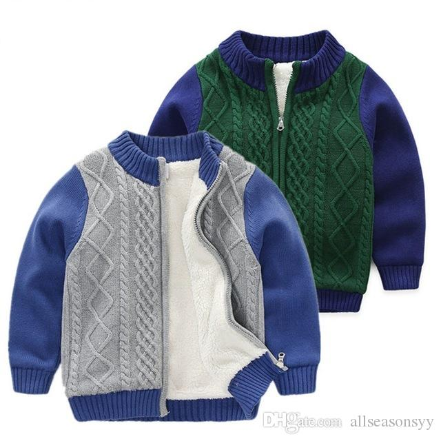 ab5eb926fab8 Children Sweater For Boys Winter Autumn New Baby Boys Sweaters ...