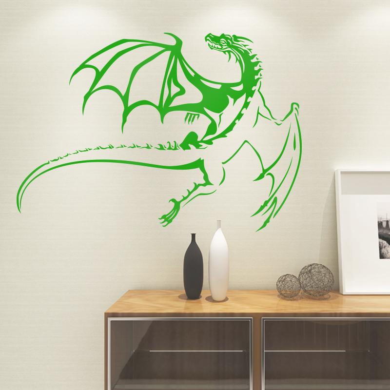 west dragon wall sticker for living room kids room bedroom home wall