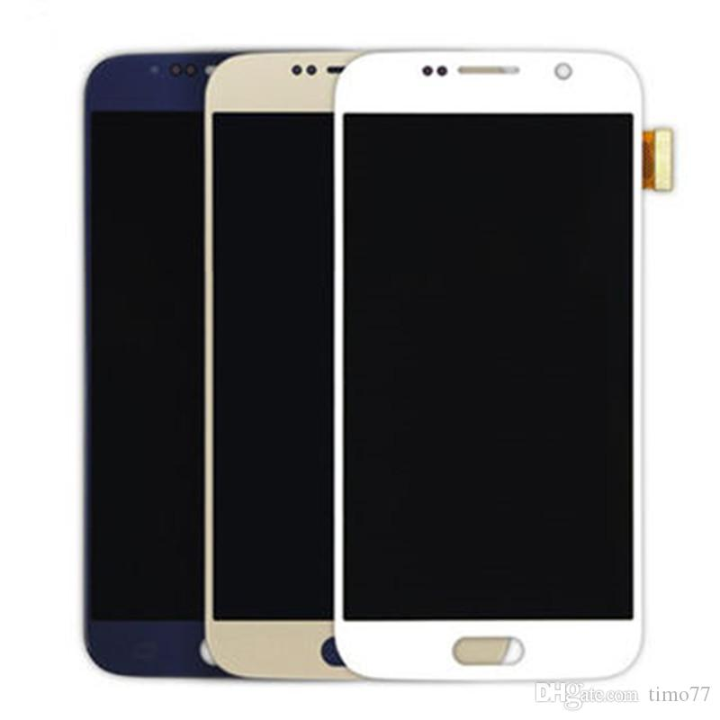Hot! For Samsung Galaxy S6 100% Original screen Quality A+++ G920 G920F G920A G920T lcd Screen Display Touch Screen Digitizer Assembly