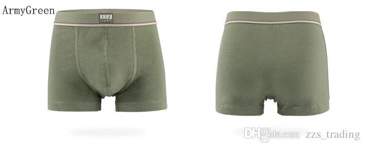 Organic Cotton Kids Boys Underwear Pure Color Babys Shorts Panties Boys Boxer Children's Teenager Underwear 3-16 Year