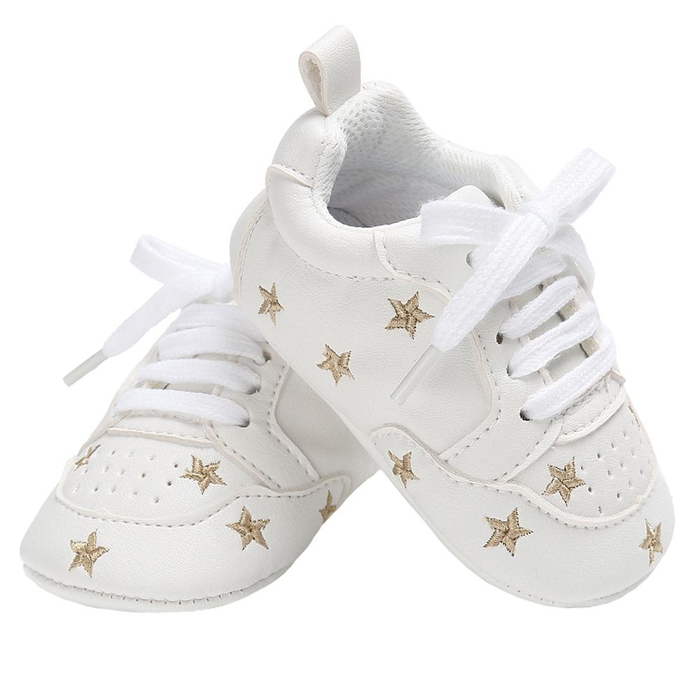 08ba784ac7f7 Baby Casual Shoes For Boys Girls Flats Little Kid Sneakers Rubber Sole  Newborn Gear Infant Tennis Toddler PU Leather Moccasins Running Shoe Sports  Shoes For ...