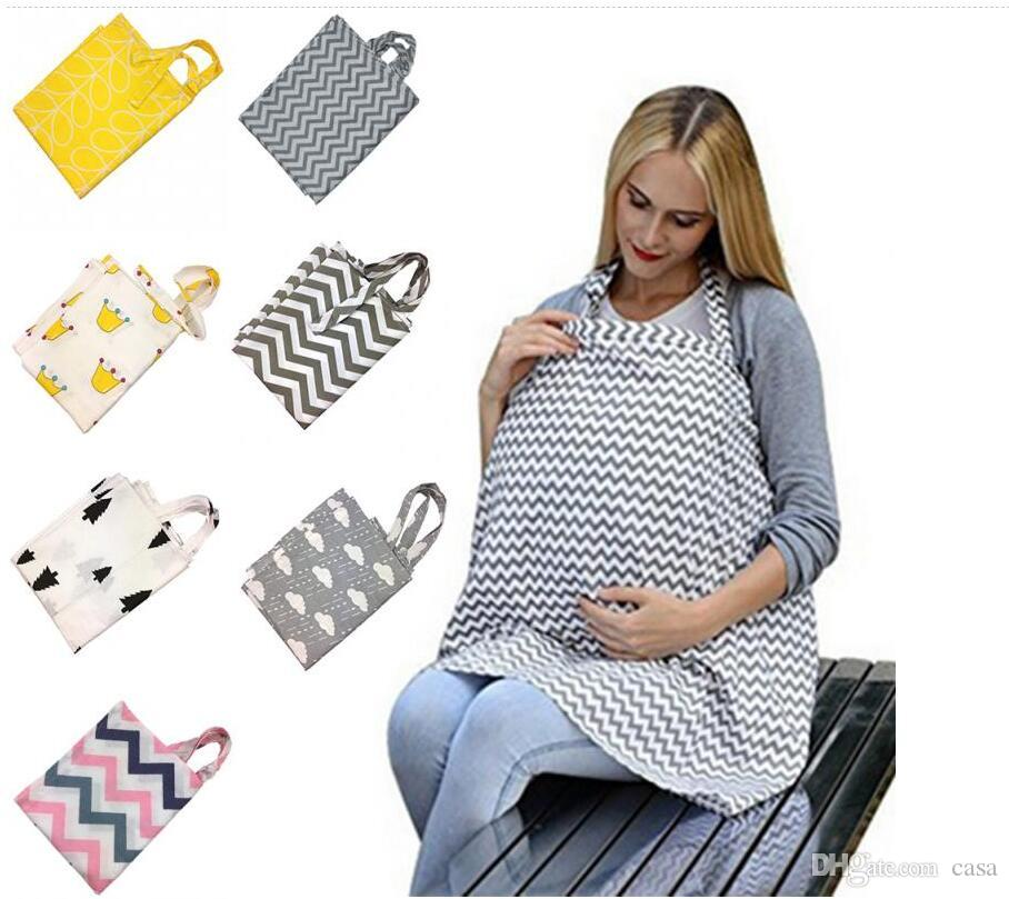 Trustful Feathers Baby Infant Breathable Cotton Breastfeeding Nursing Cloth Cover Strollers Accessories