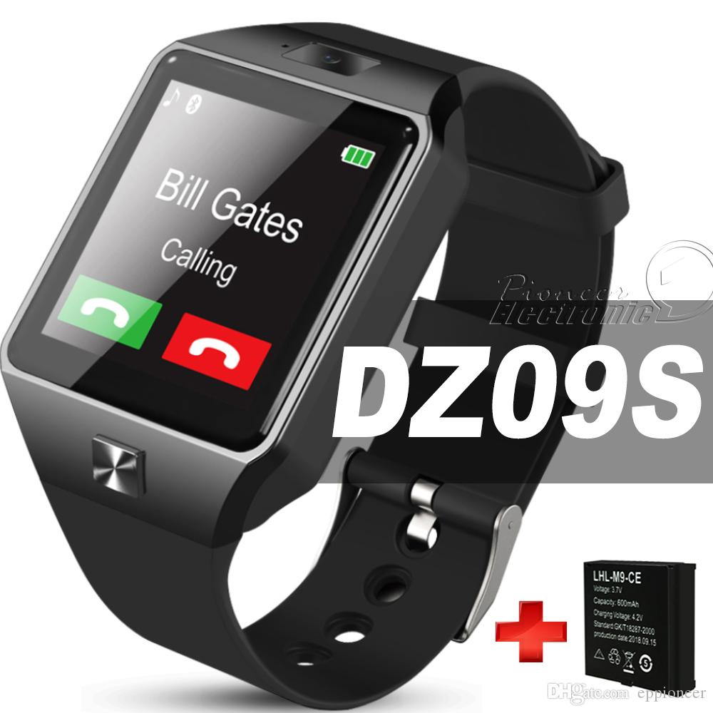 a7681426ee4 DZ09S Smartwatch DZ09 Upgraded Version Perfect PK DZ09 GT08 U8 A1 For Apple  Iwatch Android Samsung Iphone Smart Watchs Camera SIM Intelligen Smart  Watches ...