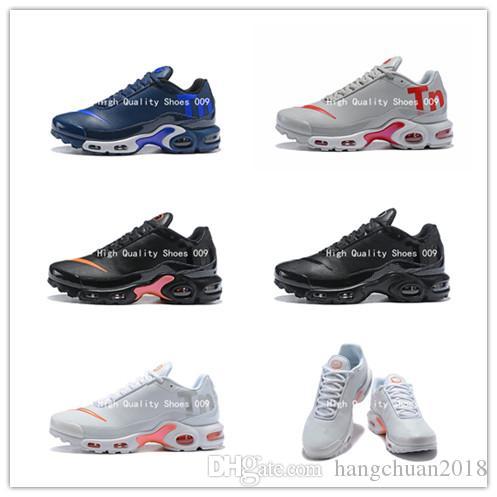 the best attitude c843d ec98e Acheter 2018 Chaud Mercurial Plus Tn Ultra SE 6 Couleurs Chaussures De  Course De Qualité AAA Chaussures Hommes En Cuir Visage TN2 Formateurs  Baskets De ...