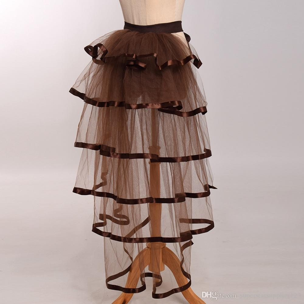 4de692a34 ... Women Victorian Steampunk Black Bustle Women Tutu Belt Lace Underskirt  NEW High Qualitu Fast Shipment ...