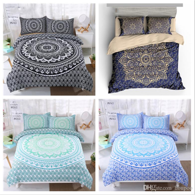 6 Bohemian Styles Twinking Size Bedding Sets Deep Pocket Bed Sheets
