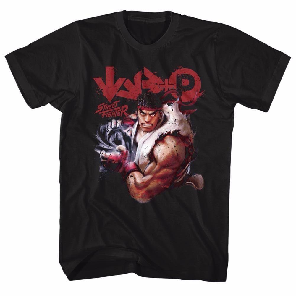 Compre Street Fighter Ryu Pose Licenciado Adulto T Shirt Dos Homens 2018  Marca De Moda T Shirt O Pescoço 100% Algodão T Shirt Tops Tee De  Distinguishedtee f2793fee9ebc5