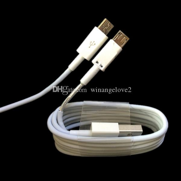 OD3.0 Tipo de lámina c Cable usb 1m 3 pies de línea de cable para samsung galaxy s4 s6 s7 s8 s9 htc
