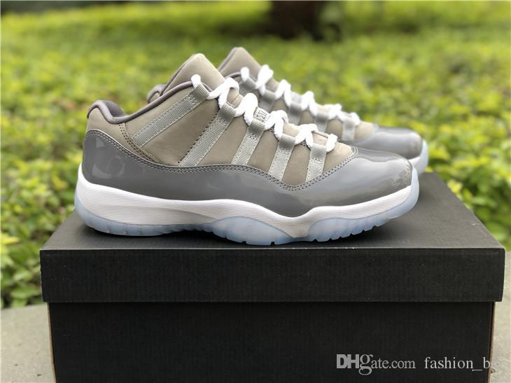 1332808061e9bd 11s Low Cool Grey Bred Man Basketball Shoes 11s Sneaker Size Eur 41 47  Wholesale Shoes Sneakers Jordans Shoes From Fashion bar