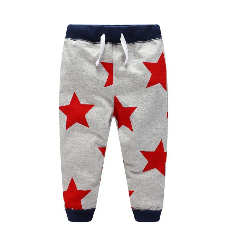 Pdf Sewing Pattern Unisex Long Pants Red Stars Pants Baby Child
