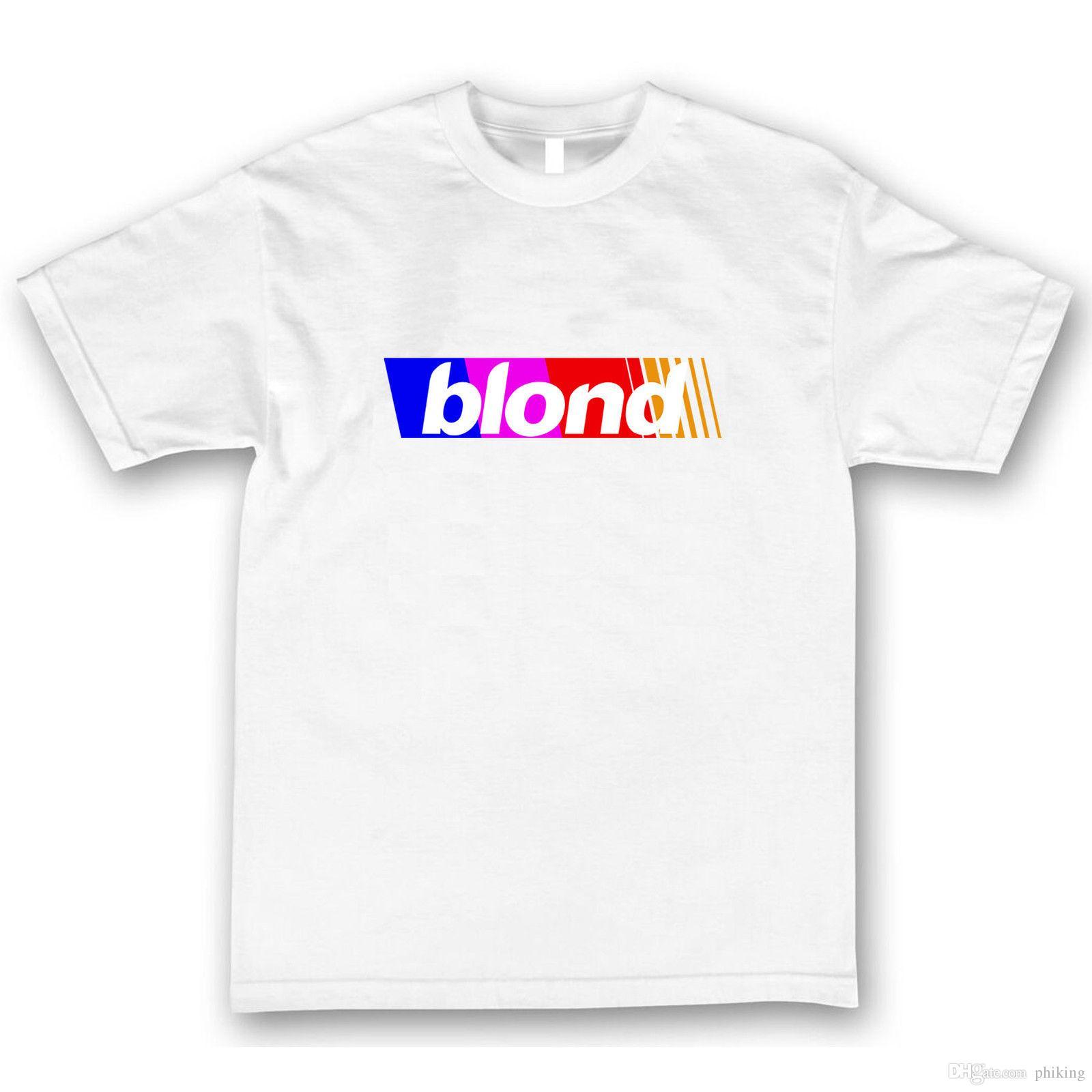 dafe7b0f Frank Ocean Blond Blonde T Shirt Rainbow Channel Orange Concert Nights Tour  Online T Shirt Buy Joke T Shirt From Phiking, $11.01| DHgate.Com