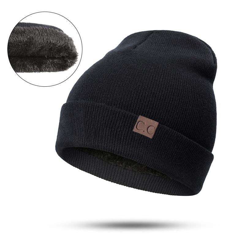 RUINPOP 2018 New Fashion Winter Hat For Women Unisex Casual Hats ... cd6d7a64994e