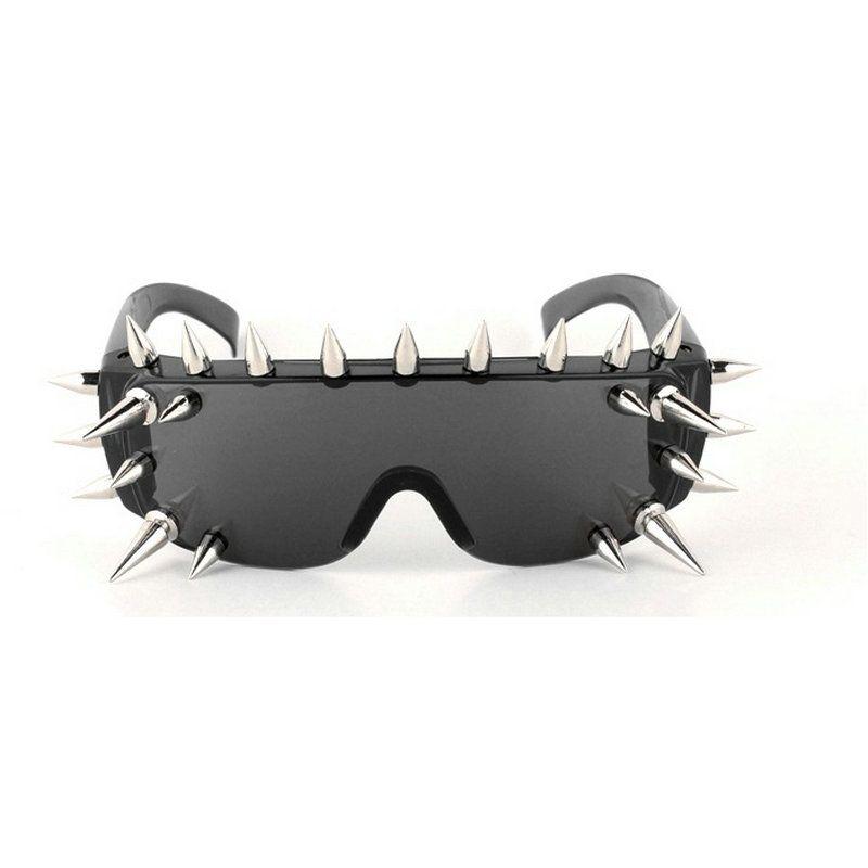 c79f84443584 Rivet Sunglasses Women Luxury Brand Designer Goggles Gothic Hip Hop Punk  Party Men Eyewear Your Style FML Vintage Sunglasses Super Sunglasses From  Kebe1