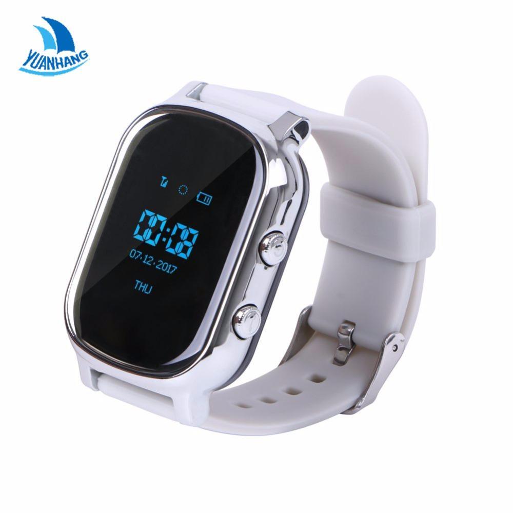 a3a1d0bae690 GPS Tracker Smart Watch T58 для детей дети старший GPS браслет Google Map  Sos кнопка трекер Gsm GPS Wi-FI ...