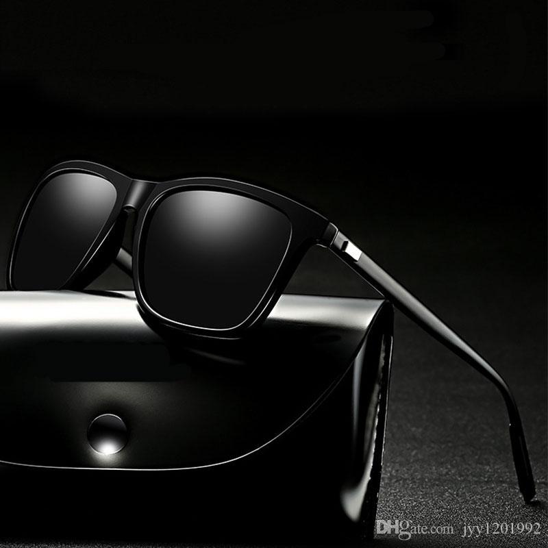 2261d4b0b7 2018 polarized sunglasses men s driving shades male sun glasses for men  retro luxury brand designer mens gafas de sol