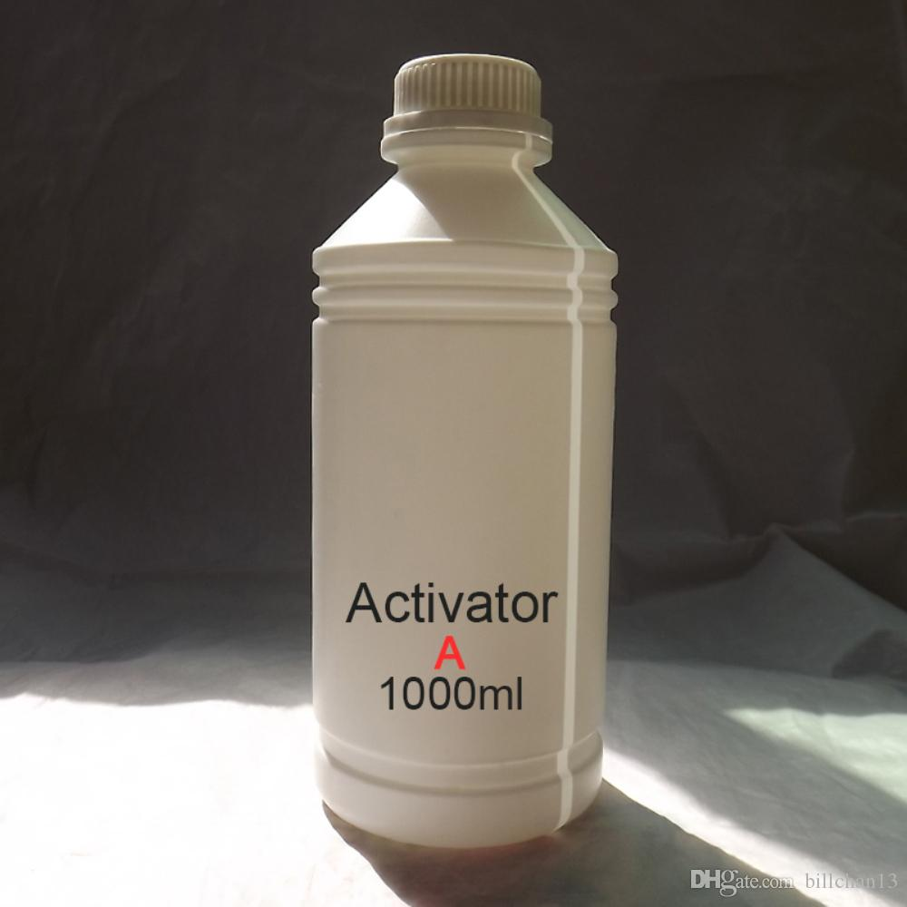 picture relating to Printable Water Transfer Film called Activator A 1000ml for Blank Drinking water Shift Printing Motion picture Do it yourself Hydro dipping movie hydrographic movie Activator