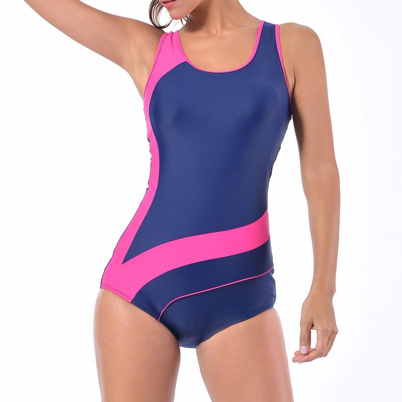 4833f38ea6 2019 Sea Bbot Athletic Training Swimwear Sport Swimsuit One Piece Bathing  Suit Women Monokini Racing Plus Size Swimwear 17210 From Zhusa, $23.91 |  DHgate.