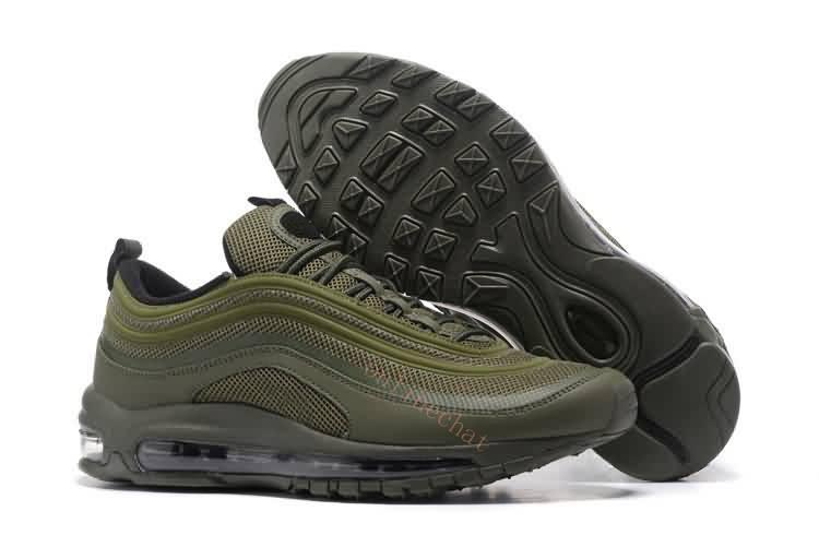 97 Chaussure Homme Running Shoes Cushion Men Women OG Silver Gold ... df5d25503