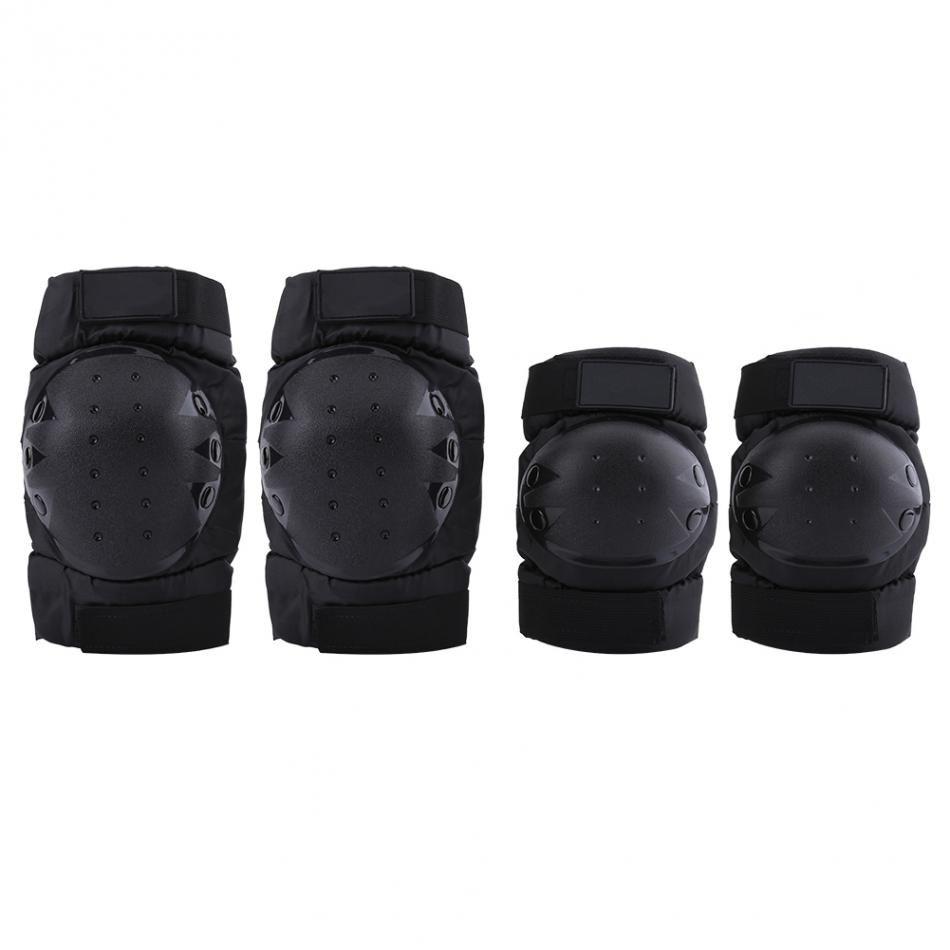 8f31eee2b7f Compre 4 Unids Codo Almohadillas Protector De Guardia Set De Equipo De  Protección Para La Motocicleta De Motocross Accesorios De Motocicleta De  Bicicletas ...