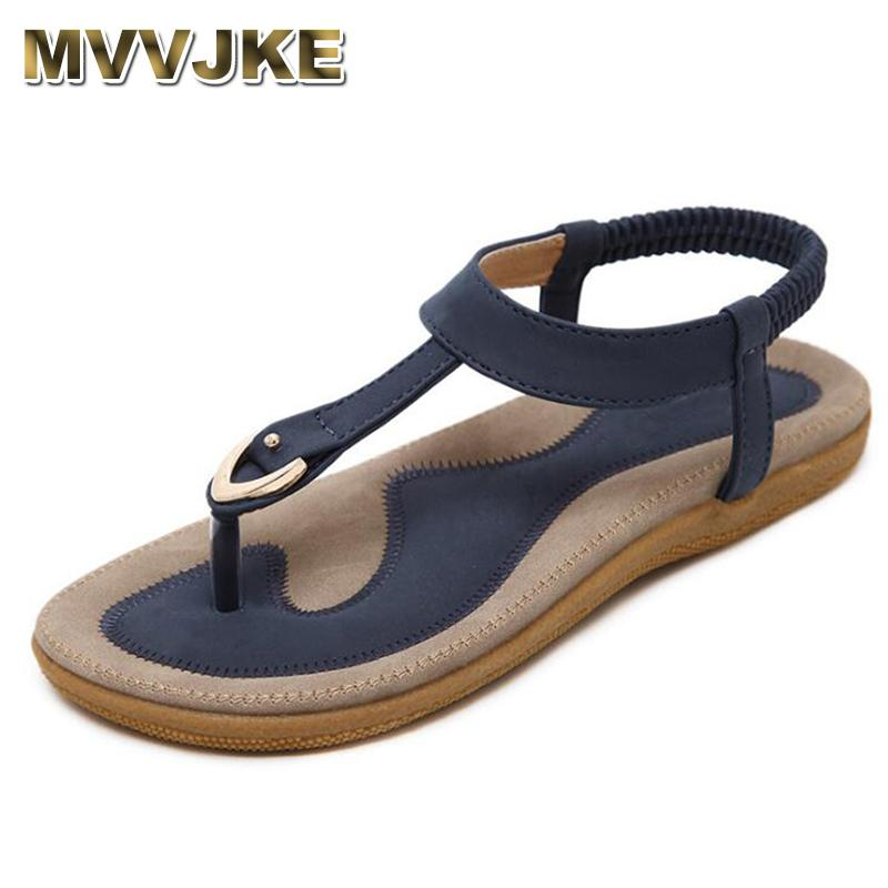 Plano Mvvjke Fondo Cuero Antideslizantes Zapatos Chanclas Tallas Suave Verano Cómodas Y Sandalias De Bohemia 42 Mujer CBrdxeoW