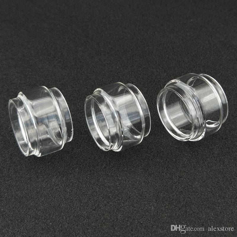 Bolha Bulb Fat tubo de vidro para a ingestão de Berserker Mini iJoy RDTA 5S Capitão X3s Amor NS Além disso Ello TS MAGE RTA 2019 Flux Cube MTL Shogun JR DHL