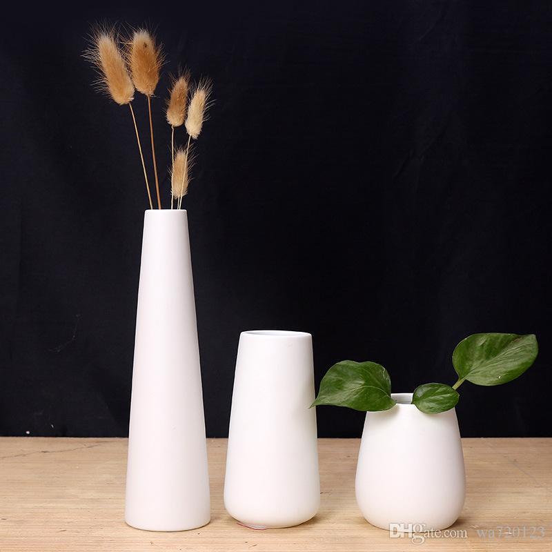 Ceramic Small Vase Flowers Inserted Home Decoration Flower Vase Room