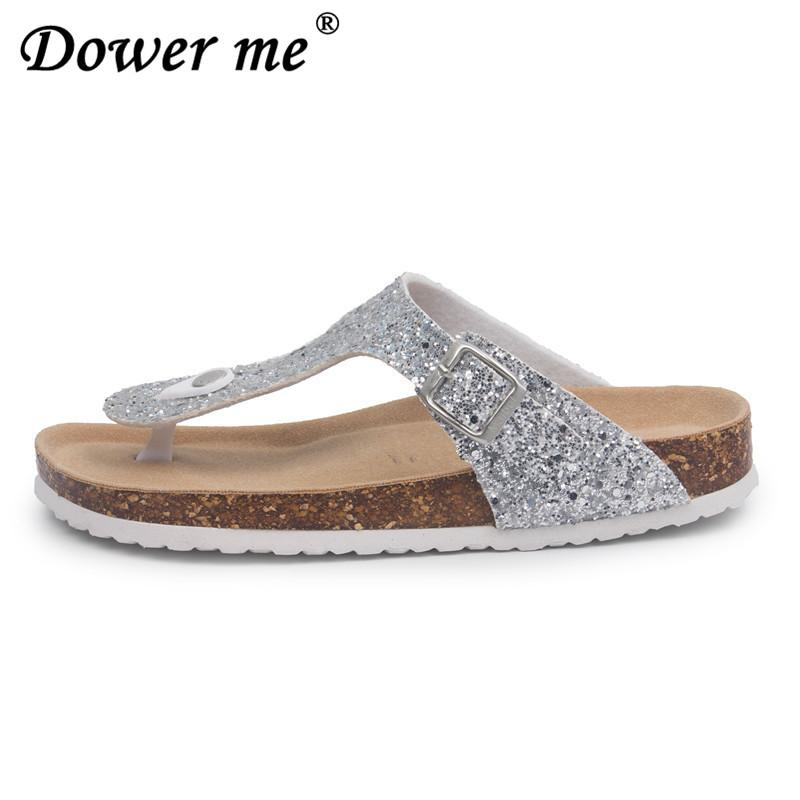 2019 New Summer Beach Cork Slippers Casual Comfortable Clogs Sandalias  Women Slip On Flip Flop Comfortable Shoe Plus Size 35 45 Fringe Boots Girls  Shoes ... 193dacfb9a9