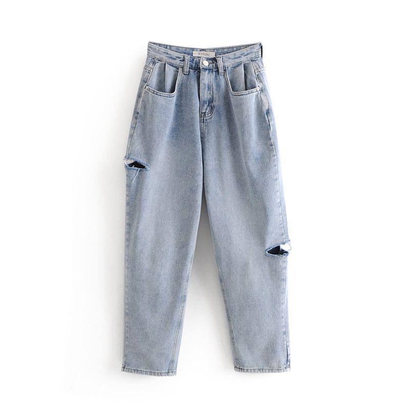 4b4b174160 Compre Envío Gratis 2018 Nueva Delgado Pantalones Lápiz Pantalones Vaqueros  De Cintura Alta De La Vendimia Nueva Para Mujer De Longitud Completa  Pantalones ...
