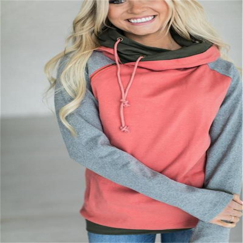 857d2e04 2019 2019 Women'S Christmas Autumn Winter Hoodie Sweatshirt Jumper Hooded  Pullover Top Hooded Long Sleeved Hoody Basic Coat From New33, $28.34 |  DHgate.Com