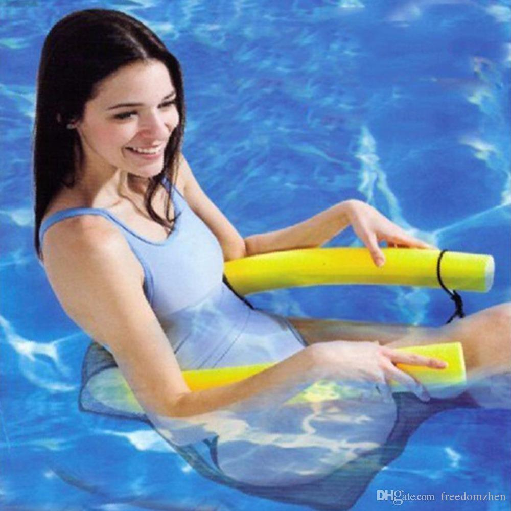 item pool hammock chair air stripe mattress from inflatable sleeping in swimming float accessories lounger floats water bed