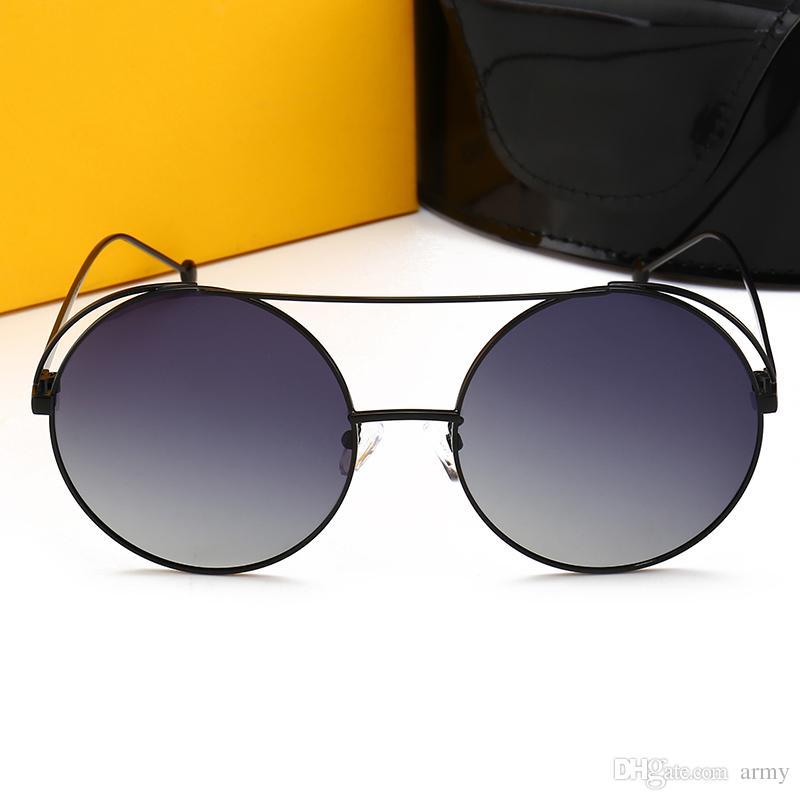 edef7f64c68 New Brand Italy Designer Popular Sunglasses 0840 Retro Style Round  Sunglasses Luxury Metal Frame Fashion Unisex Shades Eyewear UV400 Lenses  Dragon ...